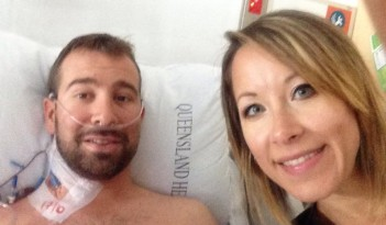 Jon L in hospital - 01